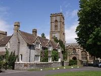 Curry rivel manor farmhouse and church